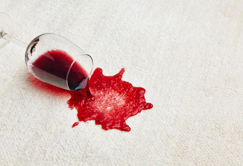 Carpet Wine Spill