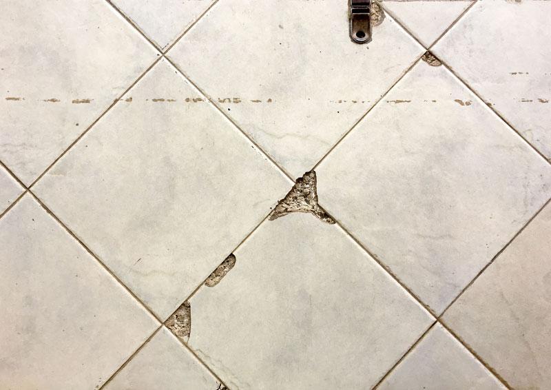 Chipped Floor Tiles