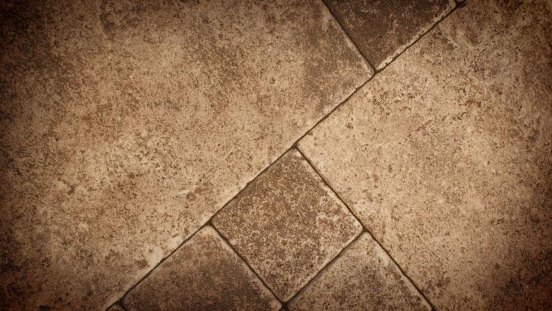 Rustic Stone Tile Floor