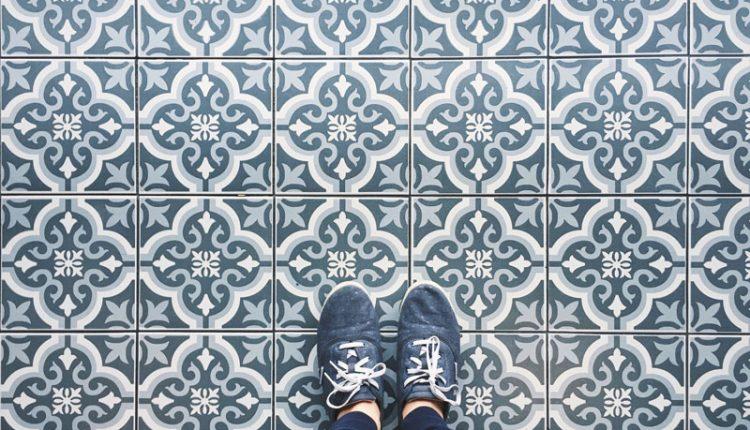 Tile Floor Selfie