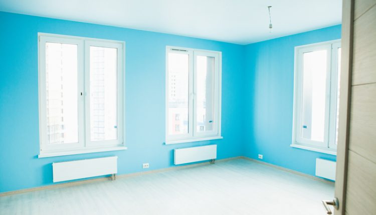 Blue Room Vinyl Flooring