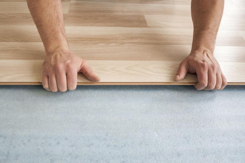 Laminate Flooring Board Installation