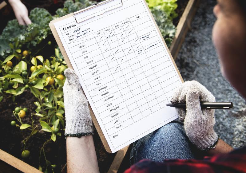 Plants Checklist
