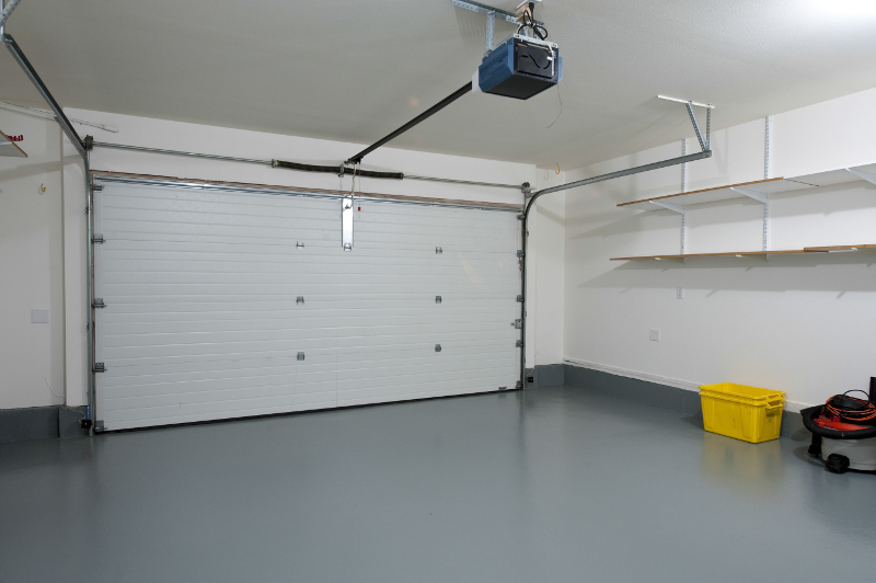 Concrete Flooring in Garage