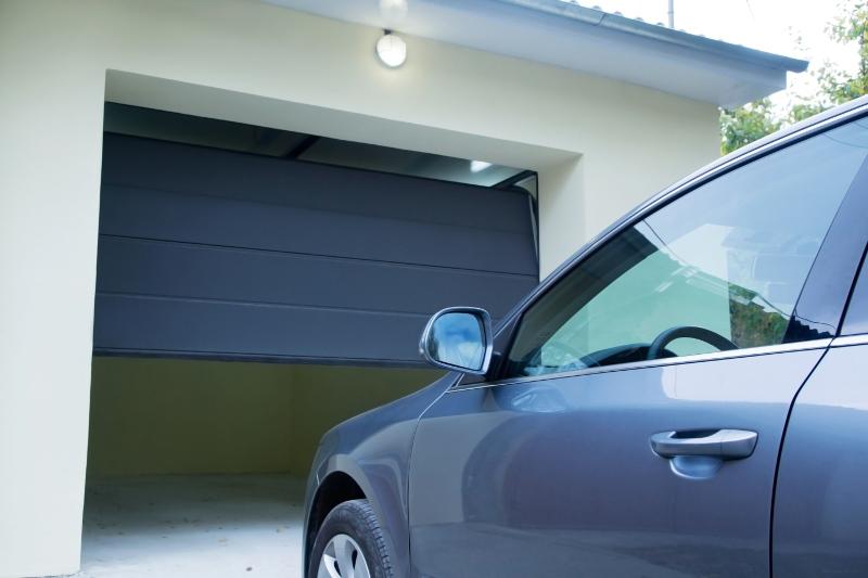 Parking Car in Garage