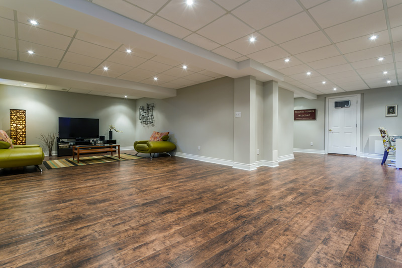 Basement Hardwood Flooring