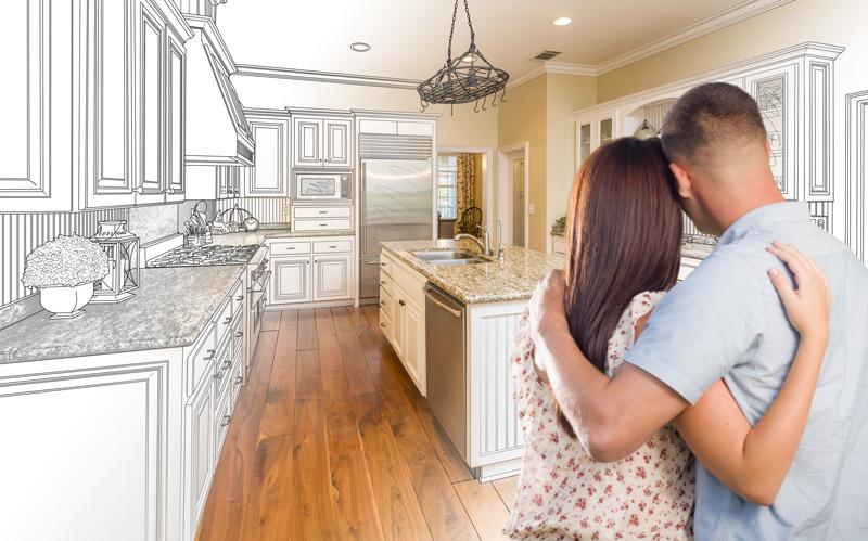 Kitchen Renovation Couple