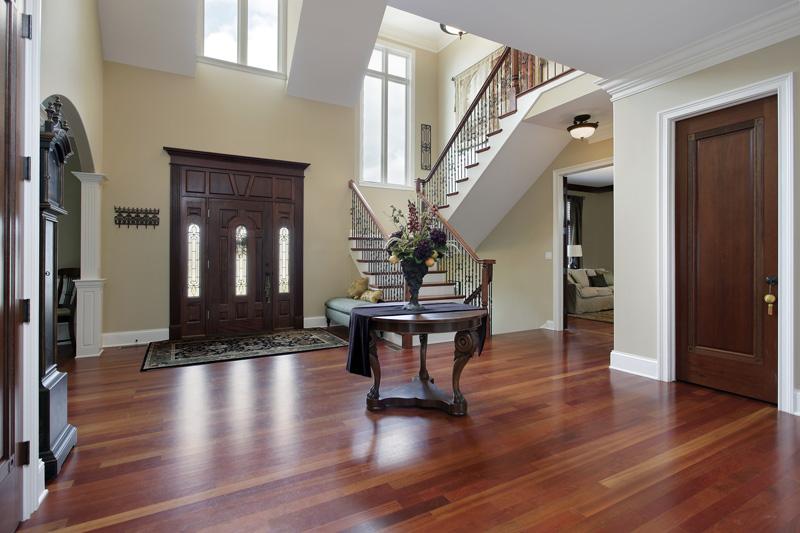 Wood Flooring in House