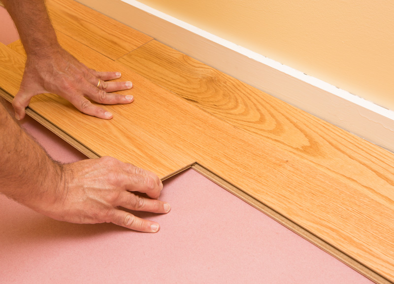 Installing Engineered Hardwood