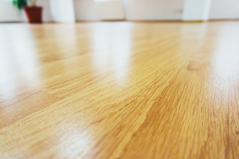 Laminated Flooring Polished