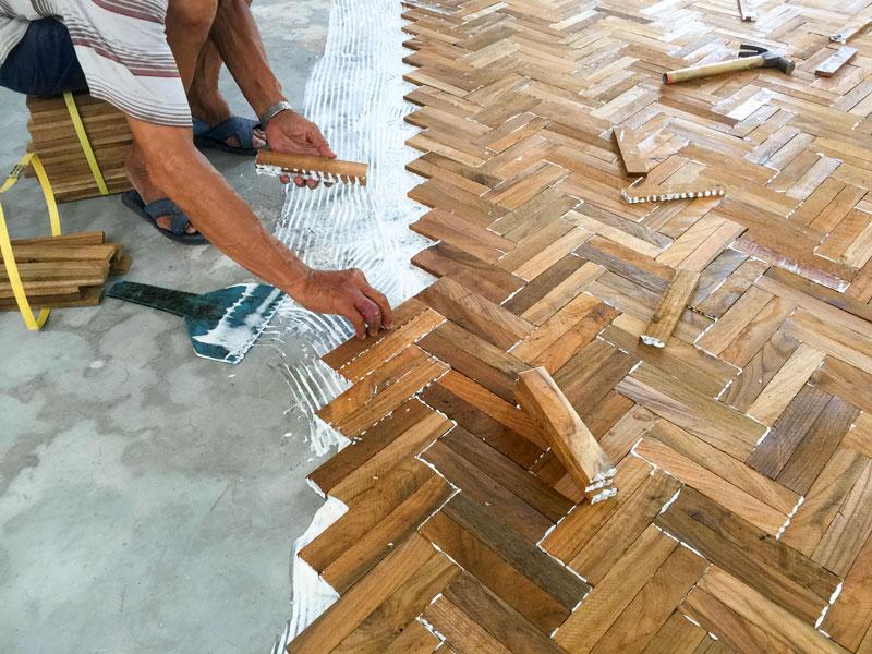 Parquet Floor Installation