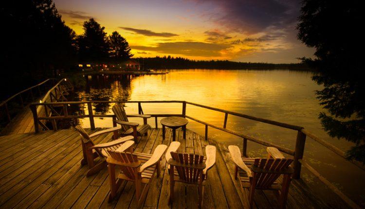 Adirondack by Lake