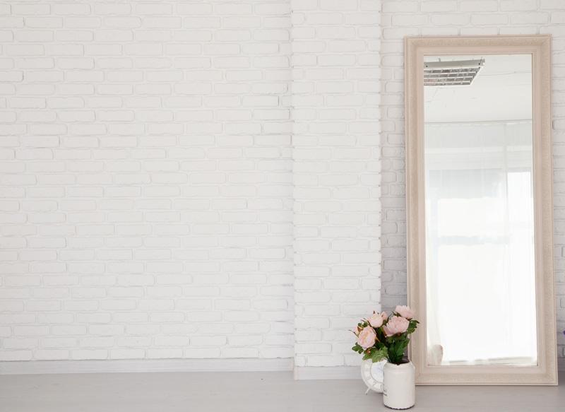 Brick Wall Mirror