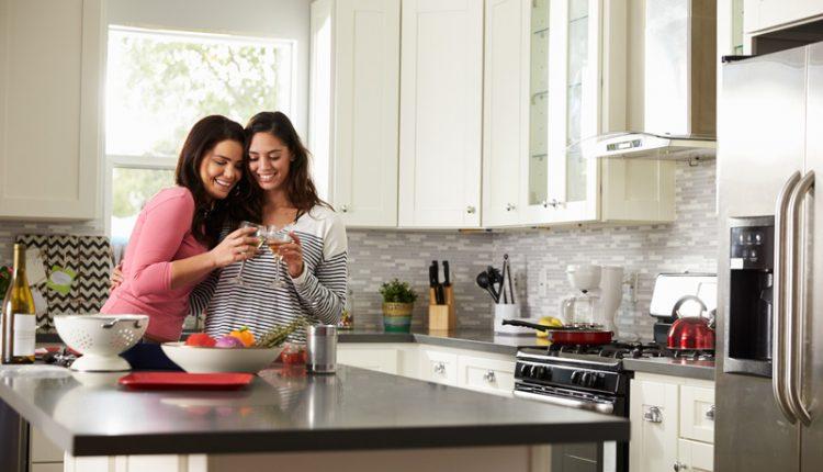 Couple in Dream Kitchen