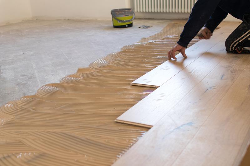 Finishing Floor