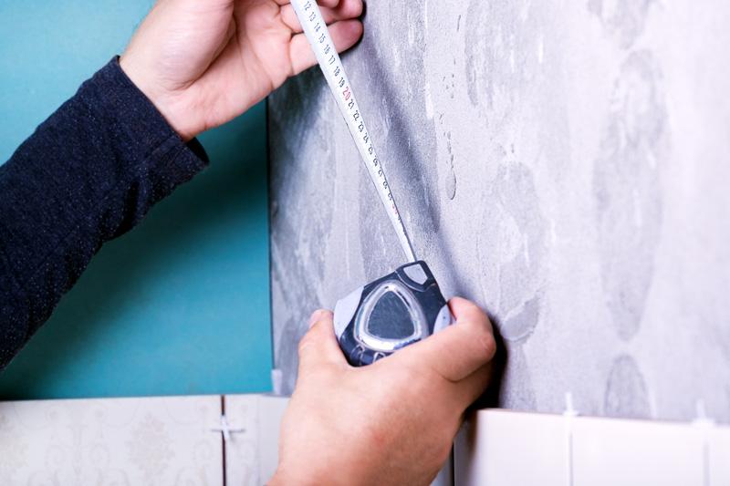 Measuring Tile