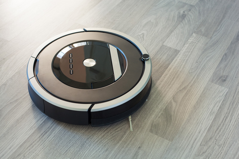 Robot on Floor