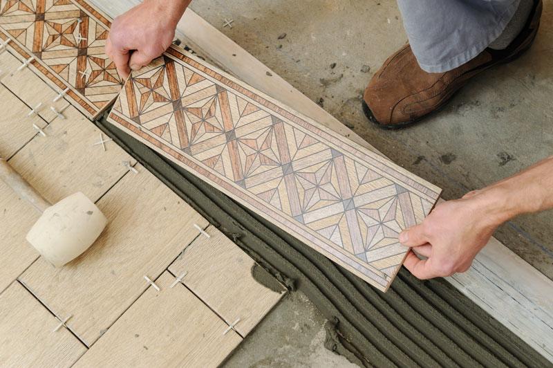 Spanish Tile Installation
