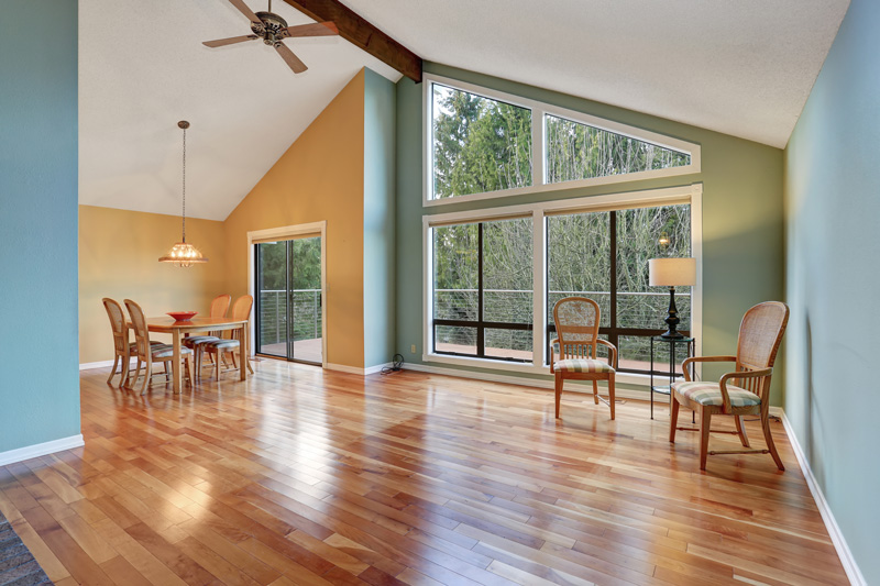 Wood Flooring Big Window