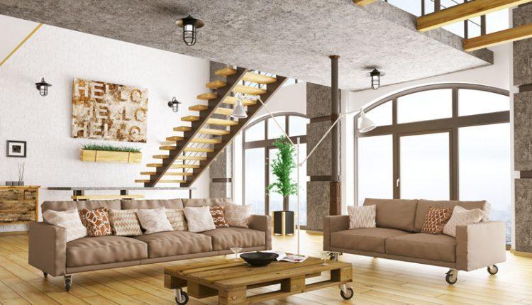 Hardwood Floor Loft