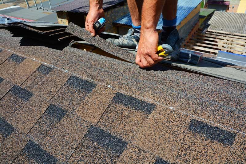 Installing Roof Shingles