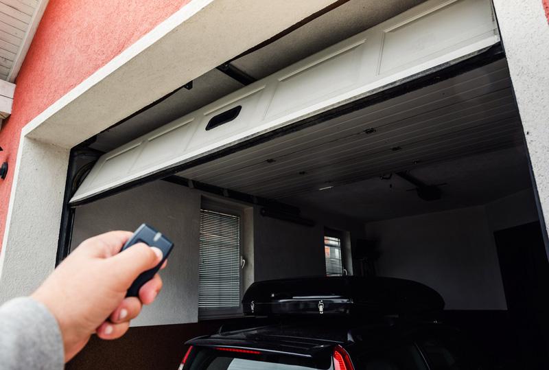 Opening Garage Door